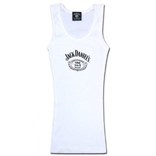 Jack Daniels Women's Daniel's White Old No. 7 Logo for sale  Delivered anywhere in USA