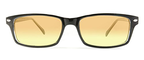 Used, Retro Eyeworks Palm Anti Strain Glasses 52-16 MM Black for sale  Delivered anywhere in USA