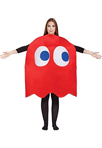 Pacman And Ghost Costumes (Adult Pac-Man Blinky Ghost Costume)