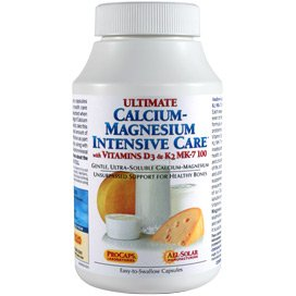 Ultimate Calcium-Magnesium Intensive Care with Vitamins D3 & K2 MK-7 100 by Andrew Lessman (Image #4)