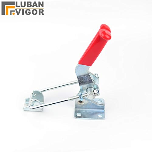 Ochoos Clamping Force 900KG,length245mm,Galvanized Iron,Lock Folder, Box Buckle, snap, a Bolt Clamps,Gripping Tool,GH 40341
