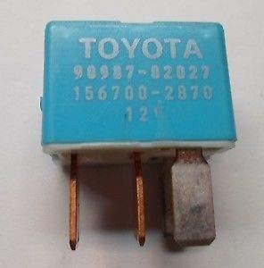 Toyota Lexus Scion limpiaparabrisas deicer relé OEM 90987 - 02027: Amazon.es: Coche y moto