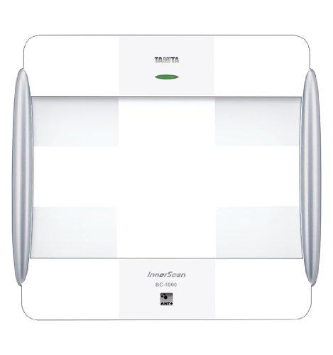BC-1000plus White ANT+ Radio Wireless Body Composition Monitor by Tanita