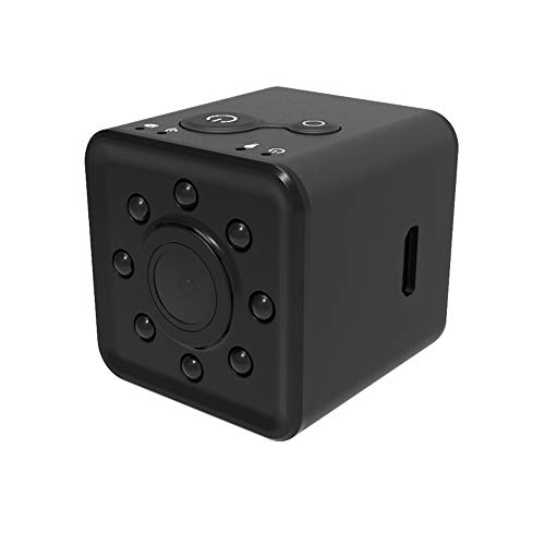 JiiJian Hidden Mini Camera, Mini Camera Audio Pet Baby Monit