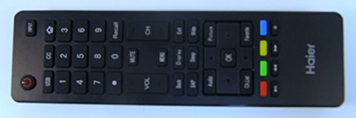 Brand New HAIER lcd led tv Remote control HTR-A18M For 32D3000 LE32M600M20 LE32F32200 LE24M600M80 LE24F33800 LE39F32800 LE39M600M80 40D3500M 48D3500 LE48M600M80 LE50M600M80 55D3550 LE55M600M80 haier TV--sold by Parts-outlet store