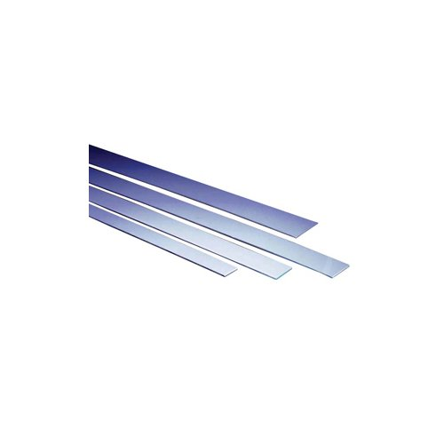 Gray ABS Flat Breaker Strip Furnished in 6ft length and 2-1/2'' Width