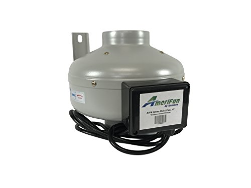 AmeriFan AIF8 Duct Booster Exhaust Fan