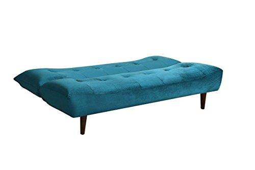 Coaster 500098 Home Furnishings Sofa Bed, Teal