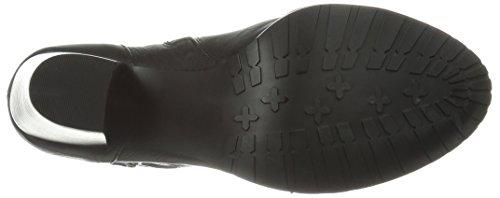 Bella Vita Kvinna Kody Boot Svart Läder