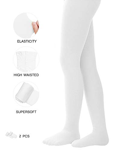 c62b332708c Tights for Girls Ballet Leotards Toddler Dance Leggings Pants Footed Kids 2  Pairs