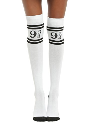 Harry Potter Platform 9 3/4 Over-The-Knee Socks