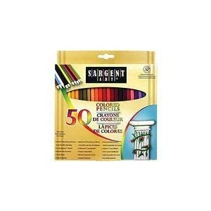 50 Colored Pencils