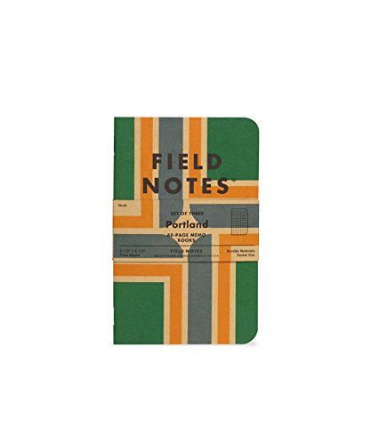 Field Notes Portland Graph Paper 3-Pack