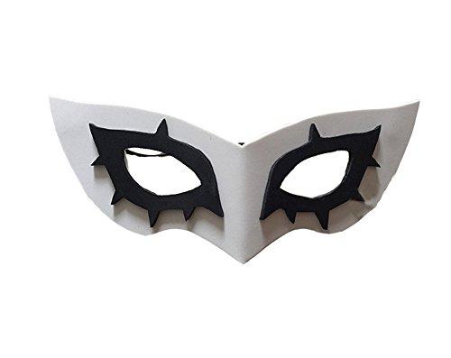Xiao Maomi Mens Halloween Suit Uniform Black Coat Cosplay Costume (One size, (Halloween 5 Mask)