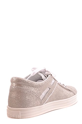 Hogan Zapatillas Para Mujer Plateado Plata It - Marke Größe