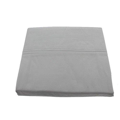 Martha Stewart Trousseau Collection Luxury Percale Queen Flat Sheet, Core Green