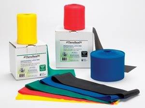 Hygienic/Theraband 20344 Professional Resistance Band, Green, Heavy, 25 yd. Length, Latex Free (Pack of 12)
