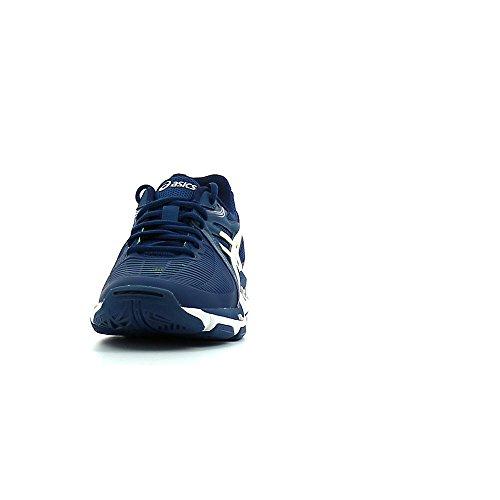 Asics Scarpe Volley uomo - Gel Netburner Ballistic - B507Y-5801 - poseidon/white/safety yellow-49