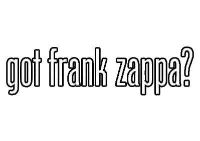 (Got Frank Zappa Sticker Decal Vinyl Decal Sticker Car Waterproof Car Decal Bumper Sticker 5