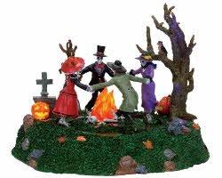 Lemax Spooky Town Skeleton Jamboree #74595 -