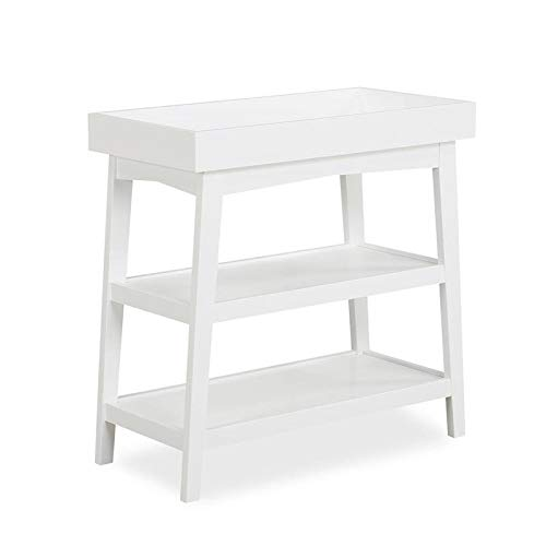 Dorel Asia Novogratz Harper Baby Open Changing Table in White