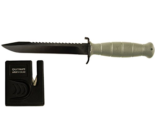 Glock 81 OD Olive Green Field Knife 6.5