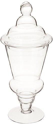 WGV Round Tapered Apothecary Jar, Large