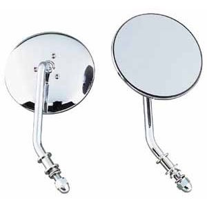 48 round mirror. Generic Right 4 Round Mirror For Harley-Davidson (BC 48-9711) 48