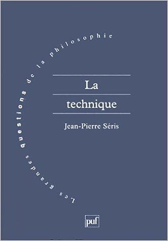 Livres gratuits La Technique epub, pdf