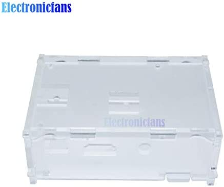 Ponis-Limos Transparent Clear Acrylic Case Shell Enclosure Computer Box kit for