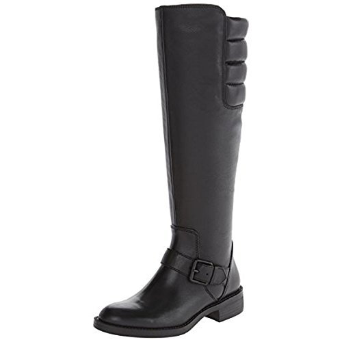 Enzo Angiolini Women's Susig Motorcycle Boot, Black, 6 M US (Footwear Angiolini Enzo)
