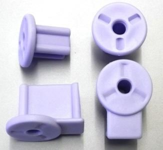 Bettacare Range of Stair Gates Spare Fitting Packs and End Covers (Bettacare Pet Gates / Easy Fit Gate Fittings White)