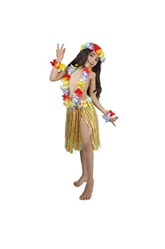 5c3615bf5a29b Dos Falda Flores 60 Matissa Leis Luau Para De Disfraz Cm Hawaiana 40 Largo  Traje Multi Mujer Tallas Hula ...