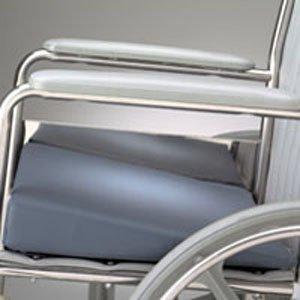 Gel Wedge Foam Cushion (Posey Deluxe Wedge Gel Foam Cushions, Weight Certified: Standard, Bottom: Flat, Dimensions (WxLxH):)