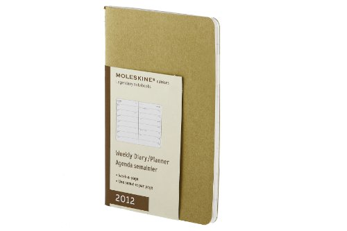 Moleskine 2012 12 Month Cahier Weekly Planner Mais ()