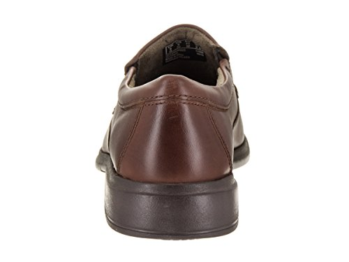 Bostonian Mens Tifton Stap Slip-on Loafer Bruin Lederen