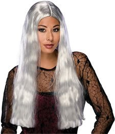 (Rubie's Grey Adult Witch Wig)
