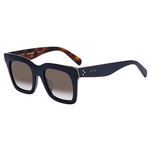 b80ab029ed43 Celine 273 Blue   Beige   Havana 41411FS Square Sunglasses Lens Category 3  · Celine 41411 F S 807 Black ...