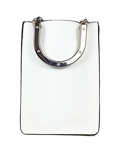 Zara Donna Mini shopper manici metallici 8608/204