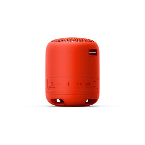 Sony SRS-XB12 Enceinte Portable Bluetooth Extra Bass Waterproof - Rouge 4