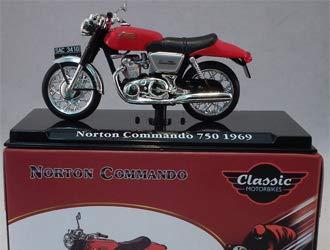 - Norton Commando 750 (1969) Diecast Model Motorcycle
