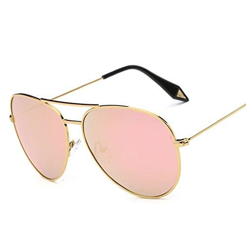 sol Gran Marco de Lente polarizada amp;Gafas Película de X9 Gafas Vintage Color Gafas Espejo 7 amp; 3 personalidad de protecciónn Gafas zw6qYOYX