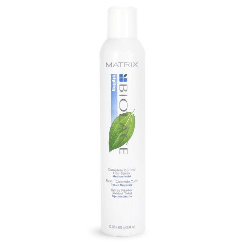 (2 pack Deal) Matrix Biolage Complete Control Hair Spray Medium Hold 10oz (Matrix Biolage Complete Control Hair Spray)
