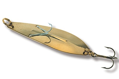 Williams Ice - Ice Jig Williams Fishing Lure - Gold Mirror - J70G - 4-1/4