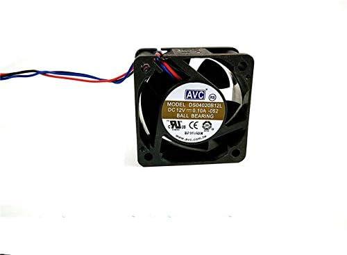 Zyvpee 40x40x20mm DS04020B12L 4cm 12V 0.1A 1.2W 2800RPM 20dBA 3Wire Cooling Fan