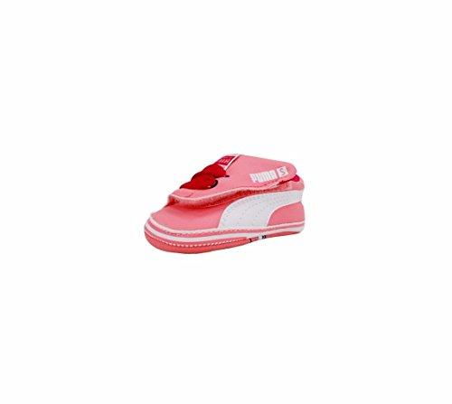 PUMA Crib pack Tom and Jerry Infant Shoe (Infant/Toddler) , Salmon Rose/White, 2 M US Infant