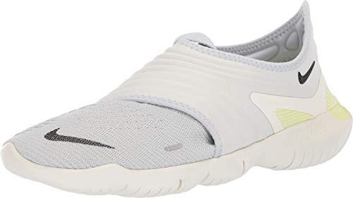 0e2f2a7e Nike Men's Free RN Flyknit 3.0 Pure Platinum/Black Knit Running Shoes 8.5 M  US