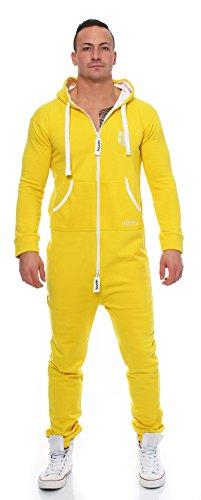 Jumpsuit Hoppe Hommes Onesie Yellow Gennadi TqzcYEvE