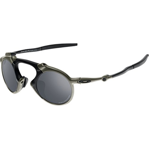 612f339fcc Oakley Men s Madman OO6019-02 Polarized Iridium Round - Import It All
