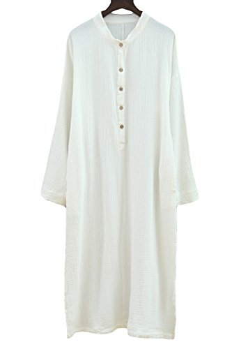 Womens Casual Sleeve Cotton Dresses Features